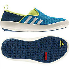Adidas Boat Slip On Traxion Shoes Boat Shoes Outdoor Trainers Blue