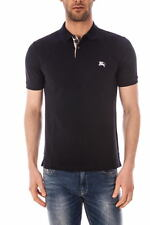 Burberry Polo Shirt % Man Blue 3459133-