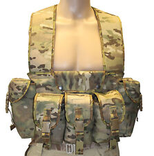UKOM Classic British Military Design Chest Webbing -  Crye Multicam / MTP etc