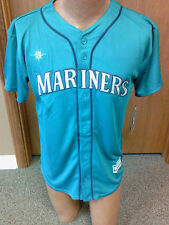 MLB Seattle Mariners New Youth jersey Sizes S-XL NWT Official Team Colors