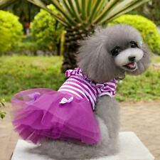 Small Pet Dog Puppy Pet Dog Dress Lace Skirt Cat Princess Dress Clothes Clothing