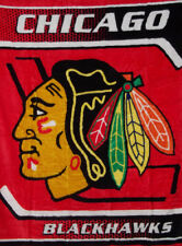 CHICAGO BLACKHAWKS HOCKEY TEAM NHL QUEEN SIZE NORTHWEST SOFT THROW BLANKET