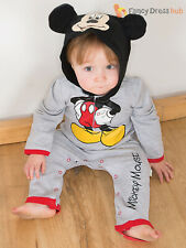 Baby Toddler Disney Mickey Mouse Romper Childs Fancy Dress Costume Kids