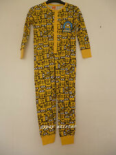 DESPICABLE ME MINION MADE ILLUMINATION BOYS ALL IN ONE SLEEP SUIT ROMPER PYJAMAS