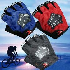 Sport Gel Antiskid Bike Cycling Gloves Mountain  Motorcycle  Half Finger Gloves