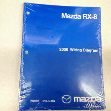 2008 Mazda RX-8 RX8 Electrical Wiring Diagram Manual EWD ETM Factory OEM