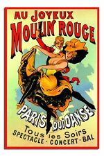 Moulin Rouge French Advertisement Poster New - Laminated Available