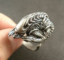 Unique Men Women  Alien vs Predator AVP Hibernation Alien Alloy Ring Multi-size