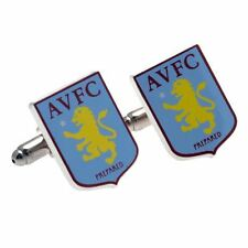 Aston Villa FC Cufflinks Football Soccer EPL Team Jewellery