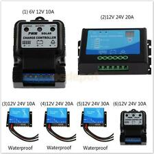 Various Waterproof Auto PWM Solar Panel Battery Regulator Charge Controller