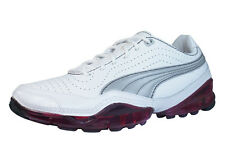 Puma Cell Meio Womens Leather Running Sneakers / Shoes - White