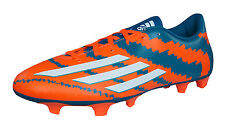 adidas Messi 10.4 FG Mens Soccer Boots / Cleats - Orange and Green B44174