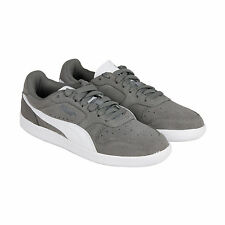 Puma Icra Trainer SD Mens Gray Suede & Leather Lace Up Sneakers Shoes