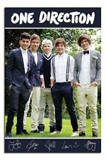 One Direction Band Portrait Poster New - Laminated Available