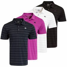 2016 Cutter & Buck DryTech Pinstripe Tech Polo Short Sleeve Mens Golf Polo Shirt