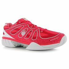 K Swiss Ultra Express Tennis Shoes Womens Red/White Trainers Sneakers