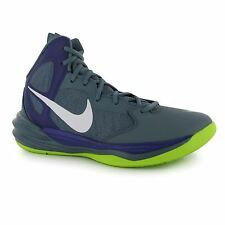 Nike Prime Hype DF Basketball Shoes Mens Blue Graphite/White Trainers Sneakers