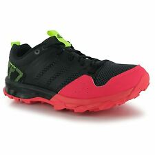 Adidas Kanadia 7 TR Running Shoes Womens Black/Red Trainers Sneakers Fitness