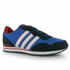 Adidas Jogger Rip Clip Trainers Mens Blue/White/Red/Navy Sneakers Shoes