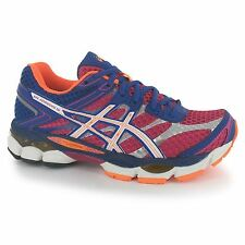 Asics Gel Cumulus 16 Running Shoes Womens Pink/White/Blue Trainers Sneakers