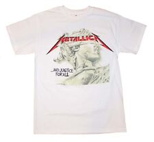 Brand New Metallica Justice Chrome Statue T-Shirt