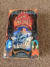 A Game Of Thrones Book One First Edition Song Of Ice And Fire George R R Martin