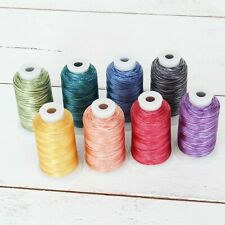 VARIEGATED POLYESTER EMBROIDERY THREAD 1000M SPOOLS 25 COLORS 40 WT - THREADART