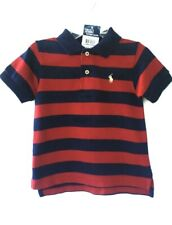 NWT Boys Ralph Lauren Blue Polo Shirt top age 9 months or 12 months,