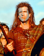 Mel Gibson Braveheart with War Paint Color Poster or Photo Print