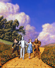 The Wizard of Oz Color Poster or Photo Judy Garland Cast