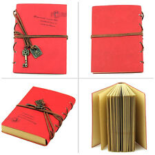Retro Leather Key Blank Diary Notebook Vintage String Book Journal Sketchbook