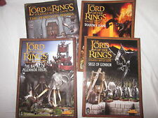 Warhammer multi listings lord of the rings strategy books collectors guides