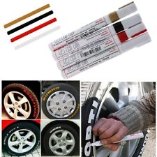 2Pcs Car Auto Tyre Tire Tread Marker Paint Pens For Metal Wood Glass Paper Write