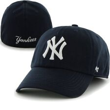 New York Yankees '47 Brand Franchise Fitted Baseball Hat Cap Men's NAVY