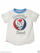 New Authentic Rowdy Sprout The Grateful Dead NY Vintage Inspired Kids T-Shirt