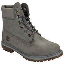Womens Timberland 6 Inch Premium Boots In Grey From Get The Label