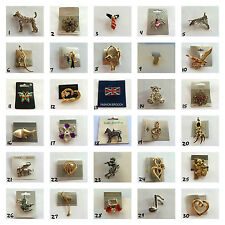 Ladies Fashion Brooch Many Styles & Colours To Choose From