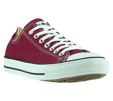 NEW Converse Chucks All Star Ox Shoes Trainers Red M9691 Leisure