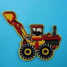 Excavator Backhoe Tractor Loader Trackhoe Bulldozer Applique Iron on Patch Motif
