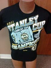 NHL Boston Bruins Stanley Cup Champs 2011 T-Shirt Mens Size SMALL NWOT new