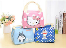 Hellokitty Thermal Picnic Cooler Insulated Portable Lunch Box Bag Travel Kids A5