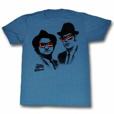 T-Shirts Sizes S-2XL New Authentic Mens Blues Brothers Shades T Shirt