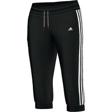adidas Ladies 3/4 Trousers Essentials Pants ESS 3S Sports ClimaLite XS-S