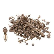500g Mixed DIY Alloy Charms Bead Pendant Jewelry Findings Crafts-Silver/Bronze