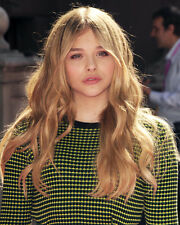Chloe Grace Moretz Cute Portrait Pouty Lips Poster or Photo
