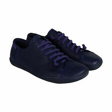 Camper Peu Cami Mens Blue Leather Lace Up Sneakers Shoes