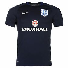 Nike England Training Jersey Mens 2016 Navy/Royal Football Soccer Shirt Top
