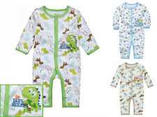 New Infant Baby Boy Girl Kid Clothes Cartoon Pattern Romper Jumpsuit 3-12M