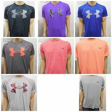 New Under Armour Mens Heatgear Loose Fit Athletic S/S Logo Tee T-Shirts XS-XXL