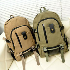 Canvas Camouflage Travel Large Capacity Shoulders Backpack Both Men And Women